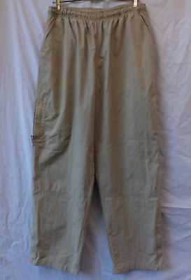 Marks & Spencer Long Pants Sz L-XL 91-97cm 36-38in Elastic Waist Casual Hiking