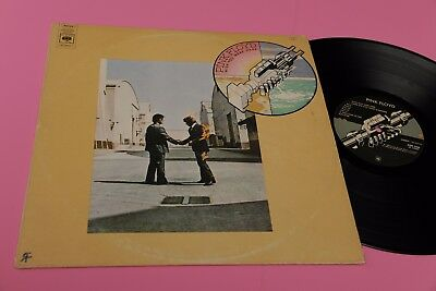 Pink Floyd Lp Wish You .. Orig 1975 Ex+ Cbs Label E Different Cover !!!!!!!!!!!!