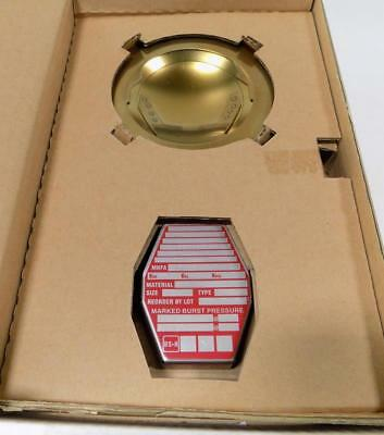 """Suzhou Bs&B Safety Systems Rupture Disk 3"""" Pse-T610-01 Nib"""