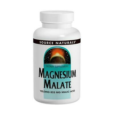 Magnesium Malate, 625mg x 100 Capsules - Source Naturals