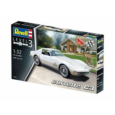 Corvette C3 1:32 Revell Model Kit