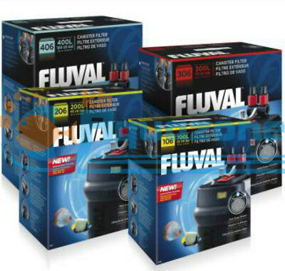 Fluval Canister Filter 106,206,306 And 406 -Multi-Stage Filtration