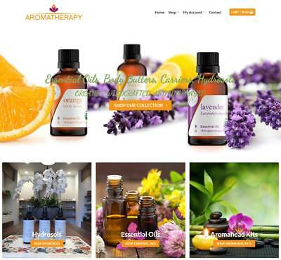 Aroma Therapy Website Business - Earn $275 A SALE. Free Domain|Free Hosting