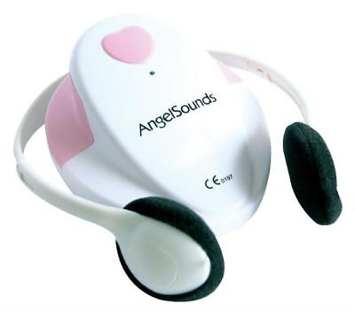 AngelSounds Foetal Doppler with Headphones, Gel & CD - NEW - FREE P&P