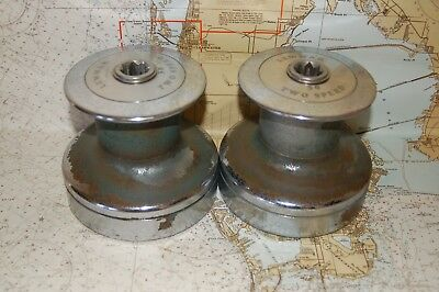Pair of  Lewmar  #30   Two Speed  Non-Self-Tailing Winches