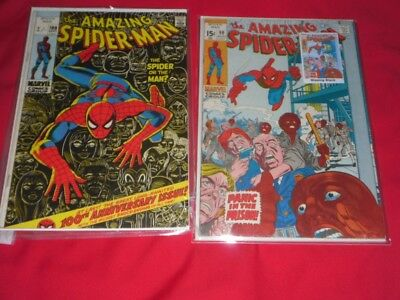 The Amazing Spiderman.Comic.100th Anniversary Issue.1971.Marvel Comic Group.
