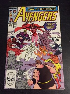 "Avengers#312 Incredible Condition 9.2(1989) Freedom Force""Acts Of Vengeance"""