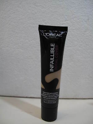 L'OREAL - INFAILLIBLE TOTAL COVER - n° 22 beige eclat   35g.