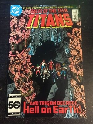 Tales Of Teen Titans#62 Incredible Condition 9.2(1986) Perez Art!!