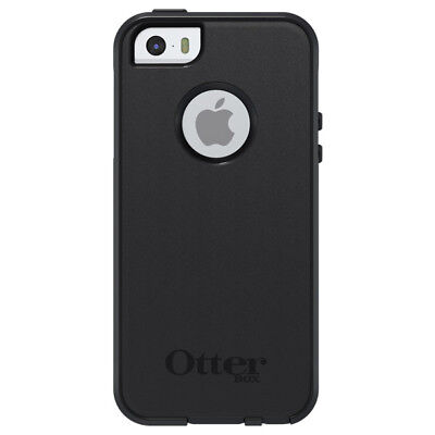 NEW OEM Otterbox Commuter Rugged Series Black Case for Apple IPhone 5 / 5S / SE