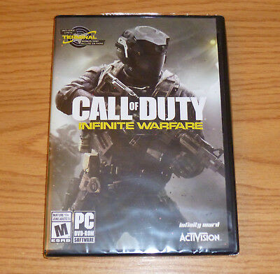 Call of Duty Infinite Warfare == for PC == STEAM / DVD-ROM == NEW, SEALED
