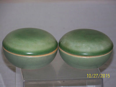 Pair of c18th/19thC Chinese Qing Dy Porcelain Cosmetic Box's w/Lids
