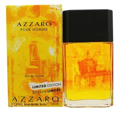 Azzaro Pour Homme Limited Edition 2015 Eau De Toilette Edt 100Ml Spray - Men's