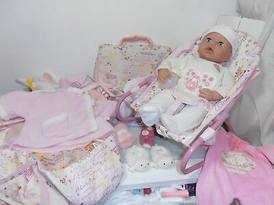 Zapf Creation Baby Annabell Interactive Dressed Doll With