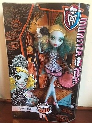 New Monster High Monster Exchange Program Lagoona Blue Doll, 6+