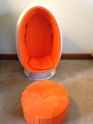 American Girl Julie Egg Chair Used