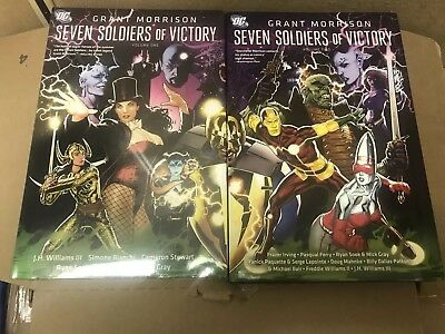 Seven Soldiers of Victory HC hardcover by Grant Morrison DC comics Zatanna
