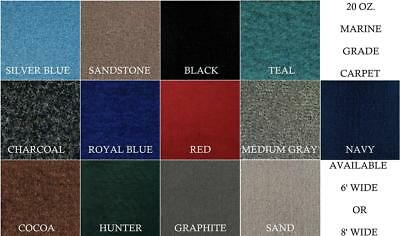 SAMPLES of 20 oz. Do-It-Yourself All Purpose Boat Carpet