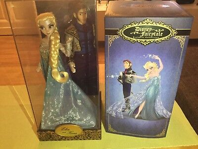 Disney Limited Edition Doll Puppe Elsa und Hans Frozen