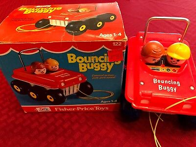 Fisher-Price 122 Bouncing Buggy in Box! Excellent Condition!