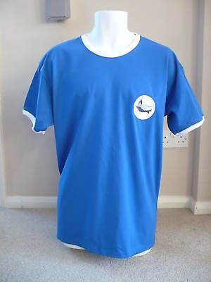 RETRO Cardiff City 1960's Embroidered T-Shirt