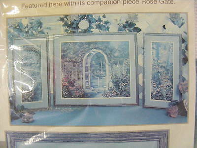 Rose Gate & Rose Colonnade Colour Art Counted Cross Stitch  (3 Pieces)