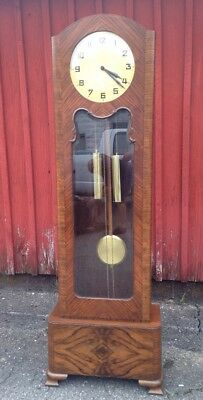 Antique German Grandfather Clock Circa 1930