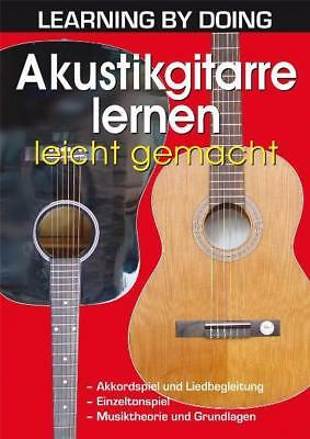 Akustikgitarre lernen leicht gemacht Kraus, Herb Learning by Doing