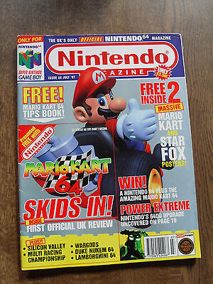 NINTENDO MAGAZINE - july 1997 issue 58