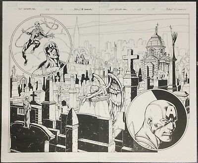 Ultimate Spider Man, Original Comic Art, Marvel Comics, Bagley & Lanning