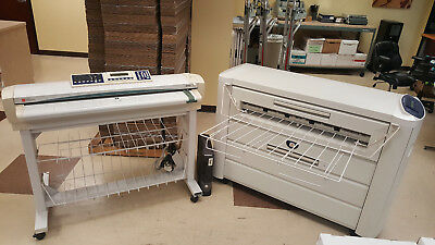 Xerox 510 Wide Format Printer with Synergix Scan System and XES Controller