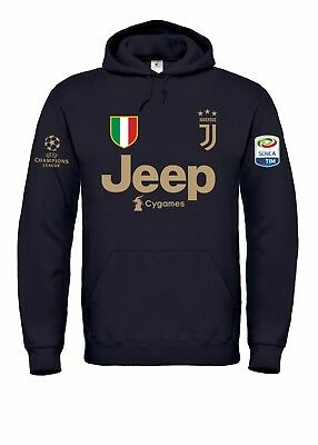 Felpa con cappuccio Junior personalizzata Juventus Football Club
