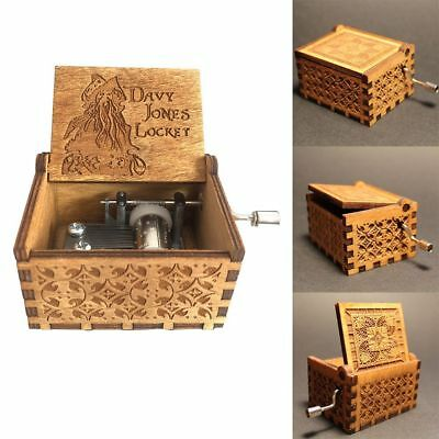 Harry Potter incise in legno da regalo Music Box fatto a mano Mestieri Regalo