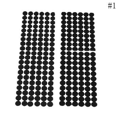 120 Pairs High Quality 15MM Glue on Hooks and Loops Dots Nylon Stickers