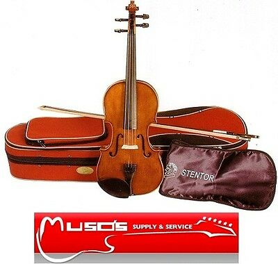 Violin Stentor Student II 4/4 size $289 with free Case and free Bow +postage