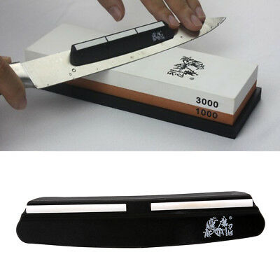Knife Sharpening Stone Sharpener Guide Whetstone/Diamond Angle Kitchen