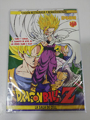 Dragon Ball Z La Saga De Cell 2 X Dvd Sobre Carton - Capitulos 168-169 Nuevo