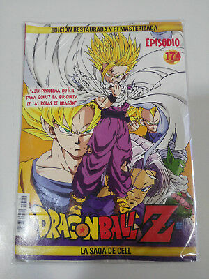 Dragon Ball Z La Saga De Cell 2 X Dvd Sobre Carton - Capitulos 174-175 Nuevo