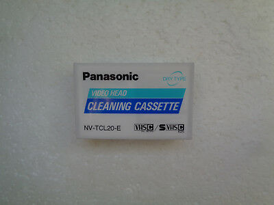 VHS-C / S VHS-C PANASONIC Cleaning Cassette NV-TCL20-E - New