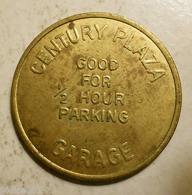 Century Plaza (Los Angeles, California) parking token - CA3450L