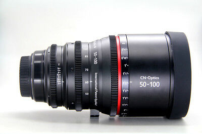 Cinematics Cine lens sigma 50-100mm F1.8 T2.0 EF for RED SCARLET RAVEN BMCC URSA