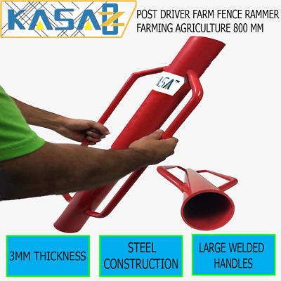 Post Driver Farm Fence Rammer Star Picket Farming Agriculture  800 Mm