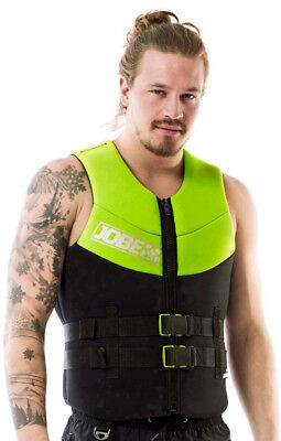 Gilet Jobe Neo Vest Men Lime 244918103 - 50N - jetski - pwc - wake - paddle