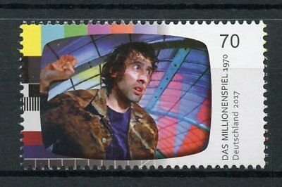 Germany 2017 MNH Das Millionenspiel 1970 TV Television 1v Set Stamps