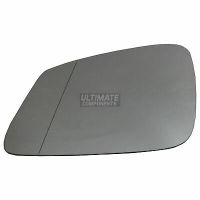Left side mirror glass for BMW 6 Series Gran Coupe 2011-2018 wide angle heated