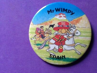 Mr Wimpy Badge.   Spain
