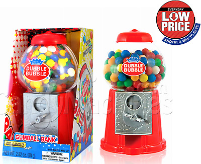 Classic Candy Bank Machine with Stand Gumball Globe Vintage Toy Xmas Gift