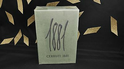 Parfum CERRUTI 1881 MEN EDT VAPO 100ML Neuf/ Sous Blister!!!!PROMO FOLLE