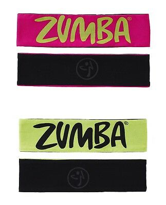 Zumba Two-Ways to Tame It Headbands - 2 pack A0A00520