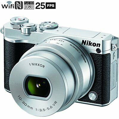 Refurbished Nikon 1 J5 Digital Camera w/ NIKKOR 10-30mm f/3.5-5.6 PD Zoom Lens